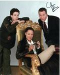 Chris Barrie Signed 10x8 photo from Red Dwalf & Tomb Raider (1)